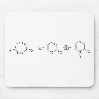 2-Pyridone Chemical Synthesis 1 Mouse Pad