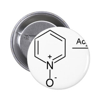 2-Pyridone Chemical Synthesis 2 Pinback Button