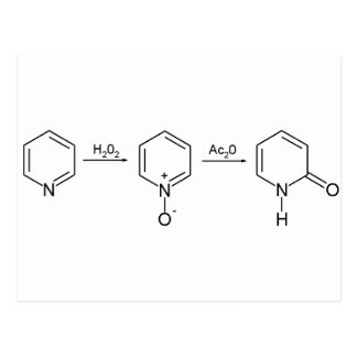 2-Pyridone Chemical Synthesis 2 Postcard