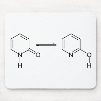 2-Pyridone Chemical Tautomer Mouse Pads