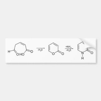 2-Pyridone síntesis química 1 Pegatina De Parachoque
