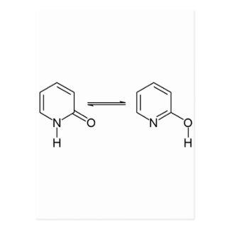 2-Pyridone sustancia química Tautomer Postales