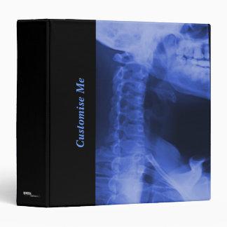 """2 radiografiados - Azul electromágnetico Carpeta 1 1/2"""""""
