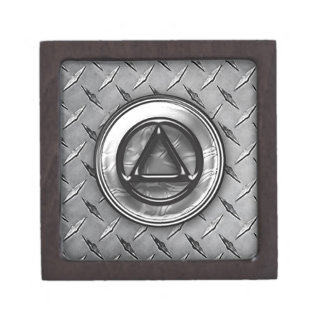 """2"""" Recovery Sobriety Sober AA Box Premium Jewelry Boxes"""