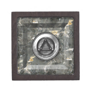 """2"""" Recovery Sobriety Sober AA Box Premium Trinket Boxes"""
