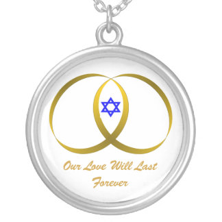 2 rings & STAR of DAVID, Our Love Will Last For... Necklace