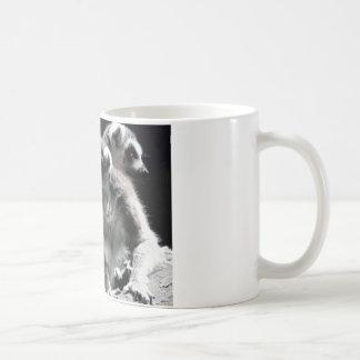 2 ringtail lemur coffee mug