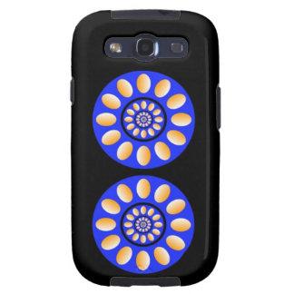 2 Rotating Circles - Optical illusion Galaxy S3 Case