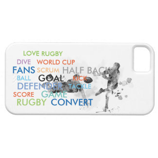 2 RUGBY PLAYERS - iPhone SE/5/5s CASE