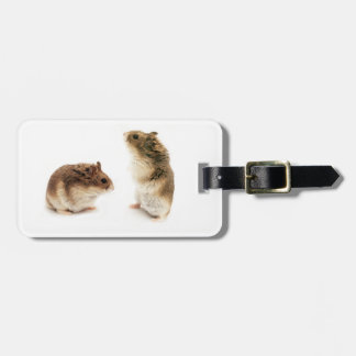 2 Russian Hamsters Luggage Tag