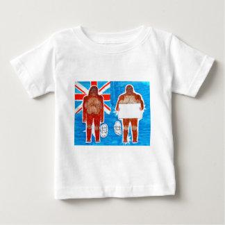 2 Sagittal Yowie,1 text  on Aussie flag,.JPG Baby T-Shirt