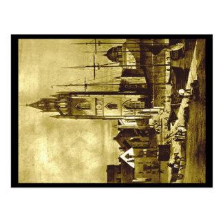 (2) Saint Nicholas Church, Liverpool, about 1824 Postcard