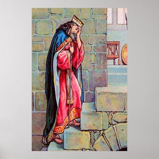 2 Samuel 18 David se aflige sobre el poster de