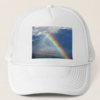 2 Samuel 22:33  Rainbow Trucker Hat