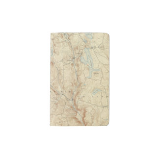 2 Sandisfield sheet Pocket Moleskine Notebook Cover With Notebook