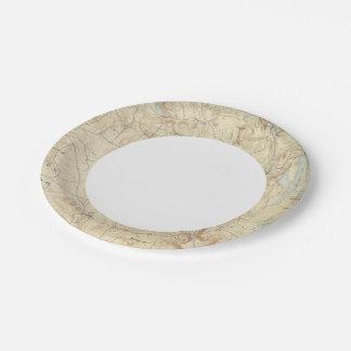 2 Sandisfield sheet Paper Plate