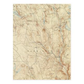 2 Sandisfield sheet Postcard
