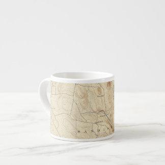 2 Sandisfield sheet 6 Oz Ceramic Espresso Cup