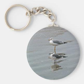 2 Sea Gulls Keychain