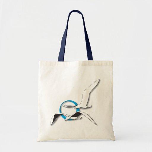 2 Seagulls Canvas Bag