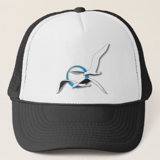 2 Seagulls Trucker Hat