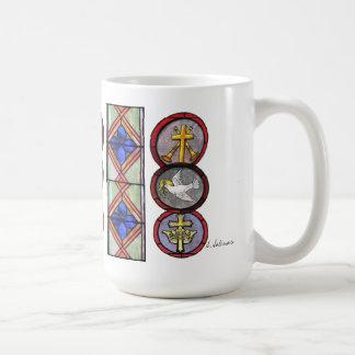 #2 Series My Pastor's Mug Stained Glass Mug