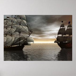 2 Ship Encounter Poster