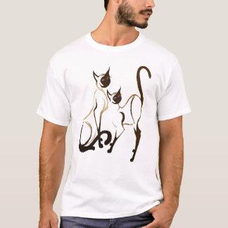 2 Siamese Kitties T-Shirt