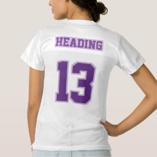 2 Side DARK PURPLE LIGHT PURPLE WH Womens Jersey