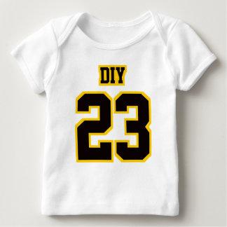 2 Side WHITE BLACK GOLD Lap Shirt Football Jersey