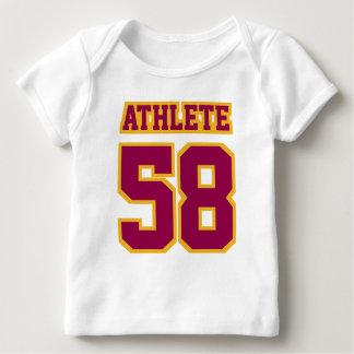 2 Side WHITE BURGUNDY GOLD Shirt Football Jersey