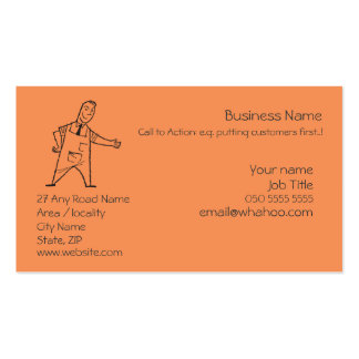 2 Sided Generic Name Card