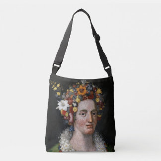 2-sided Giuseppe Arcimboldo bag: Flora + Vertumnus Crossbody Bag
