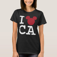 2 Sided I Love Mickey | California Family Vacation T-Shirt