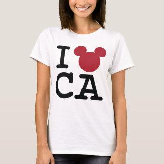 2 Sided I Love Mickey   California Family Vacation T-Shirt
