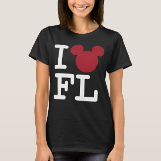 2 Sided I Love Mickey | Florida Family Vacation T-Shirt