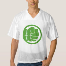 2 Sided Incredible Hulk Logo | Add Your Name Men's Football Jersey