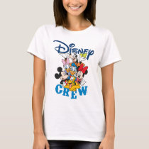 2 Sided Mickey & Friends Crew - Family Vacation T-Shirt
