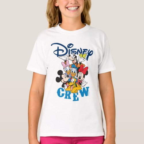 2 Sided Mickey  Friends Crew _ Family Vacation T_Shirt