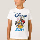 """2 Sided Mickey &amp; Friends - Family Vacation T-Shirt<br><div class=""""desc"""">Going on a Disney family vacation? Customize these Disney shirts for the whole family by adding your family name or custom text.</div>"""
