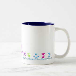 2-Sided More Happy Icon Mug