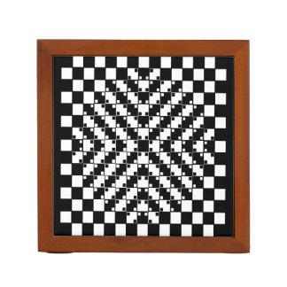 2-sided Optical Illusions Desk Organizer