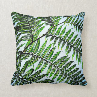 2-Sided Palm Fronds Throw Pillow
