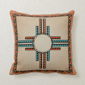 2-Sided Southwestern Design Throw Pillow