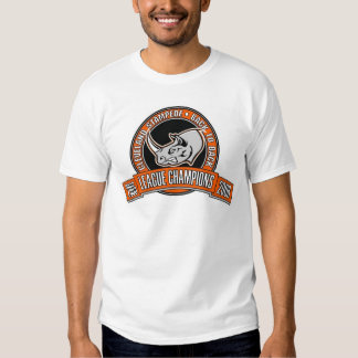 2-Sided Stampede Back To Back League Champs 2006 T-shirt