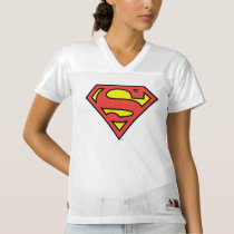 2 Sided Superman Logo | Add Your Name Women's Football Jersey