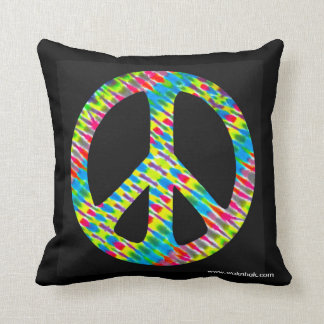 "2-sided 'Tie Dye"", Throw Pillow"