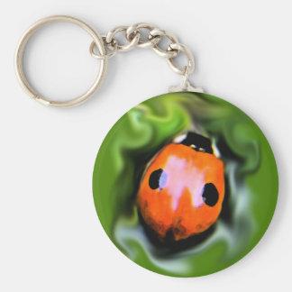 2-spot ladybug 2 key chain