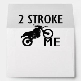 2 Stroke Me Dirt Bike Envelope