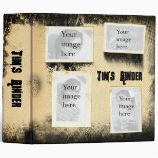 "2"" Super grungy vintage binder"